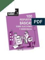 100 respuestas báscias sobre elecciones y democracia.pdf
