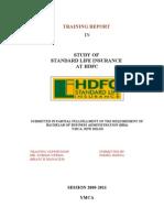 Hdfc Study of Slic