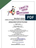 ListaQuestioniCritiche_CEDAWItalia