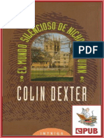 Dexter Colin - Inspector Morse 03 - El Mundo Silencioso De Nicholas Quinn.epub