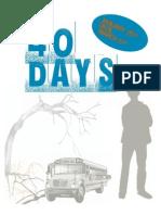 40 Days Student Version