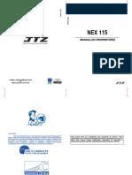 Manual do proprietário - Nex 115 Haojue