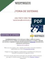 AUDITORIA DE SISTEMAS Semana 2 202065 ESTUDIANTES