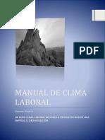 Manual de Clima Laboral