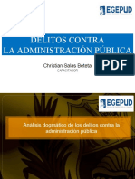 Diapositivas - Delitos contra la administracion publica