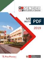 Memoria Institucional 2019_SENCICO