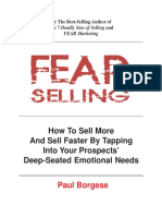 Paul Borgese - Fear Selling