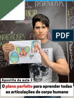 Apostila da aula 2 - O plano perfeito para aprender todas as articulações do corpo.pdf