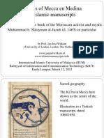 Images of Mecca-Medina in Islamic manuscripts_jan Just Witkam.pdf