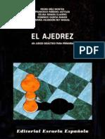 Diez Montes Pedro - El Ajedrez, un juego didactico para primaria, 1994-OCR, 102p