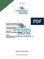 QUÉ SON LAS TICS O TECNOLOGÍAS DE LA INFORMACIÓN Y LA COMUNICACIÓN.docx