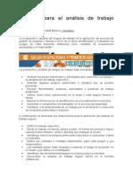 7 pasos para el análisis de trabajo seguro
