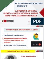 SESIÓN 8 ORIENTACIONES FRENTE A CASOS DE VIOLENCIA CONTRA NNA EN EL HOGAR