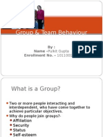 group & team behaviour