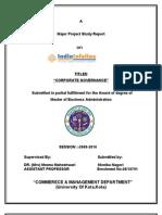 Corporate Governance - India Infoline