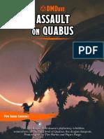 DMDave Adventure - Assault on Quabus (5th-Level)