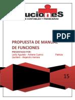 PROCESOS DE MANUAL DE FUNCIONES POR COMPETENCIAS