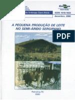 A PEQUENA PRODUÇÃO DE LEITE NO SEMI-ÁRIDO SERGIPANO