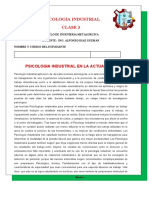 CLASE  3 PSICOLOGIA INDUSTRIAL OK