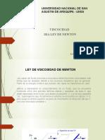 TEMA 2  Ley de viscosidad de Newton (1)