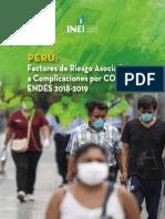 Factores de Riesgo Covid 19 Peru Inei