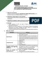 PROCESO CAS N° 264-2019-ANA