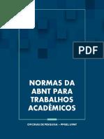 E-book - Normas da ABNT