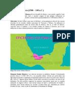 pueblos prehispanicos y sus caracteristicas