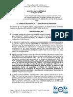 Acuerdo CSJANTA20-83 (23-07-2020) Cierres de Despacho Área Metropolitana