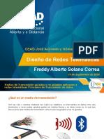 Medios de transmision guiados y no guiados - Freddy Solano
