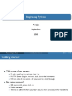 Python Tutorial #1
