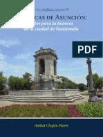 Crónicas de Asunción datos para la historia de la ciudad de Guatemala