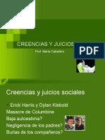 CREENCIAS Y JUICIOS SOCIALES, PREJUICIO