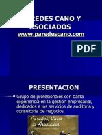 PAREDES CANO Y ASOCIADOS