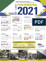 Calendario Semestral y Anual 2020 2021