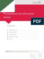 Unidad 4 Escenario 7 Procesamiento de informacion textual