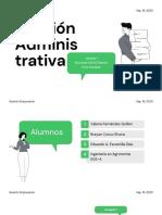 Gestión Administrativa / Gestión empresarial