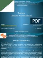 Trabajo 2 Relacion del derecho administrativo con las demas ramas
