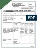 GUÍA AA 0. COMUNICACIÓN, REDACCIÓN Y NORMAS DE PRESENTACIÓN DE INFORMES