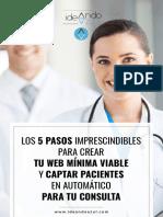 Sanitarios - Los 5 pasos imprescindibles para crear tu web minima - IdeandoAzulpdf