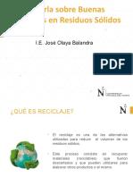 Charla IE José Olaya Balandra