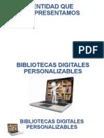 Biblioteca digital personalizable