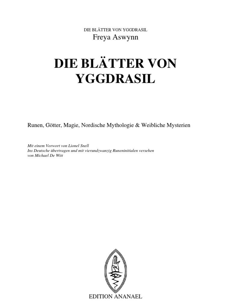 Freya Aswynn - Die Blätter von Yggdrasil