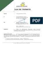 Documentos secretario de la Comisión Estatal de Elecciones