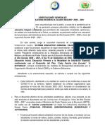 ORIENTACIONES PEDAGÓGICAS INICIO  AÑO ESCOLAR 2020 -2021 MPPE