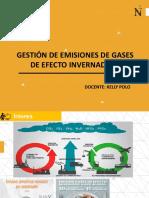 Semana 2 GESTIÓN DE EMISIONES DE GASES DE EFECTO INVERNADERO