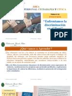 Clase N° 01 - DPCC - 3° de Secundaria - III Bim