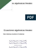 Unidad 03 - Sistemas de ecuaciones lineales