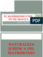 Matrimonio Civil En Nicaragua, El - Ruiz