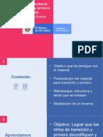 Presentación Material ATAL Preesc y primero